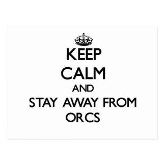 Guarde la calma y permanezca lejos de Orcs