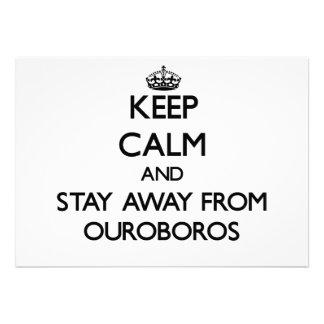 Guarde la calma y permanezca lejos de Ouroboros Anuncios Personalizados