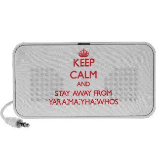 Guarde la calma y permanezca lejos de Yara-mA-yha- iPhone Altavoces