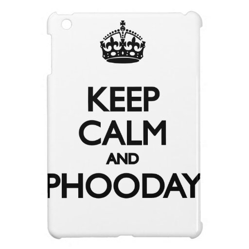 Guarde la calma y Phooday iPad Mini Protector