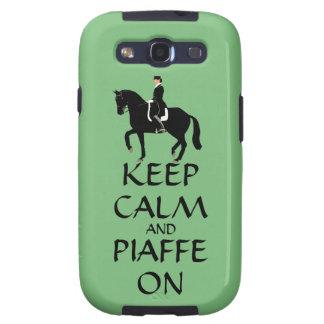 Guarde la calma y Piaffe en Dressage Galaxy S3 Protector