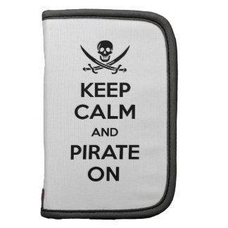 Guarde la calma y piratéela encendido planificadores