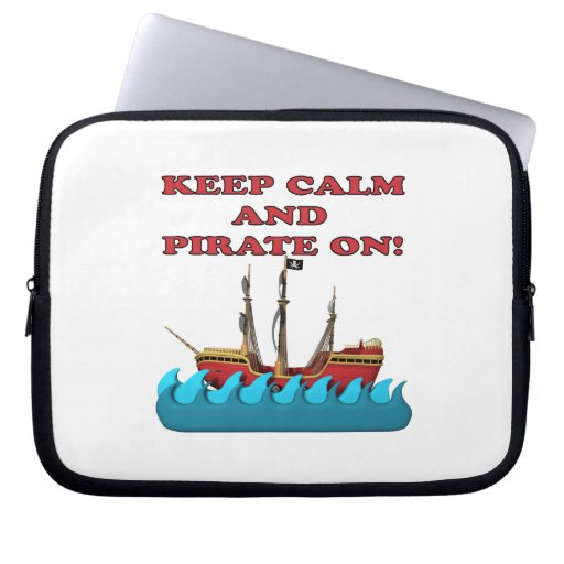 Guarde la calma y piratéela encendido manga portátil