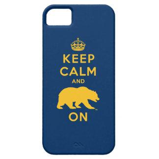 Guarde la calma y refiérase funda para iPhone SE/5/5s
