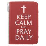 Guarde la calma y ruegue diariamente