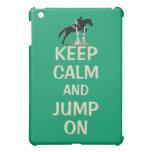Guarde la calma y salte en caballo