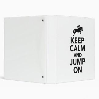 """Guarde la calma y salte encendido carpeta 1"""""""