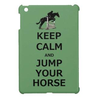 Guarde la calma y salte su caso del iPad del cabal iPad Mini Protector