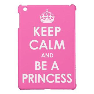 Guarde la calma y sea caso del iPad de la princesa