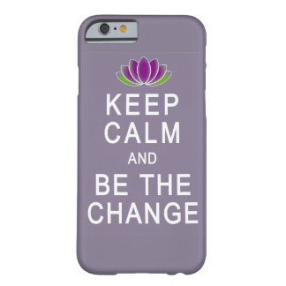 Guarde la calma y sea el caso del iPhone 6 del