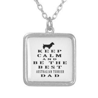 Guarde la calma y sea el mejor papá de Terrier aus Joyerias