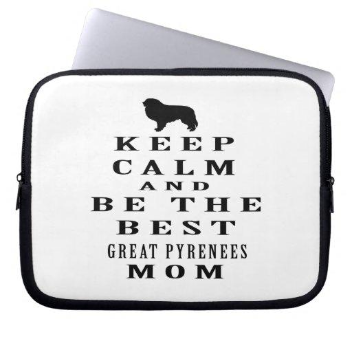 Guarde la calma y sea la mejor mamá de los grandes mangas portátiles