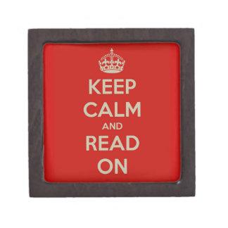 Guarde la calma y siga leyendo cajas de joyas de calidad