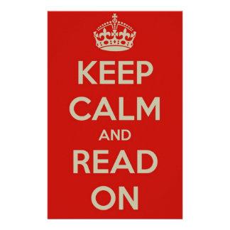 Guarde la calma y siga leyendo papeleria