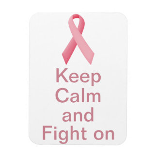 ¡Guarde la calma y siga luchando! Imanes Flexibles