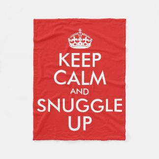 Guarde la calma y Snuggle para arriba