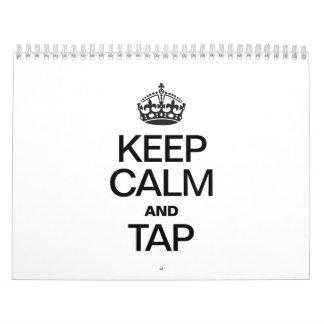 GUARDE la CALMA Y TAP.ai Calendarios