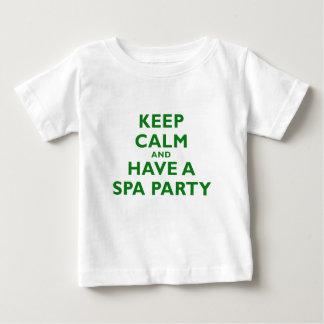 Guarde la calma y tenga un fiesta del balneario polera