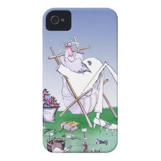 guarde la calma y tenga un snoooze, fernandes tony funda para iPhone 4 de Case-Mate