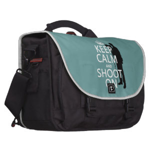 Guarde la calma y tírela en fotos cualquier col bolsa de ordenador