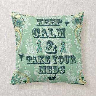 Guarde la calma y tome su almohada de Meds