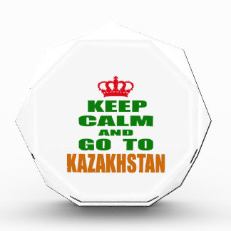Guarde la calma y vaya a Kazajistán