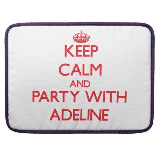Guarde la calma y vaya de fiesta con Adelina Fundas Macbook Pro