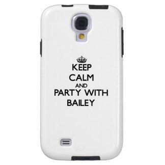 Guarde la calma y vaya de fiesta con Bailey