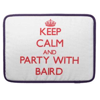Guarde la calma y vaya de fiesta con Baird Fundas Macbook Pro