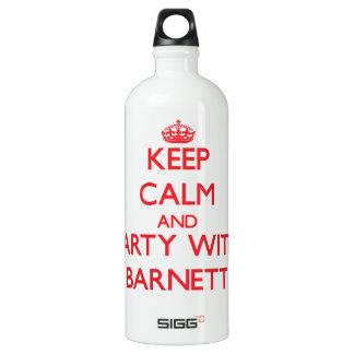 Guarde la calma y vaya de fiesta con Barnett