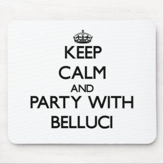 Guarde la calma y vaya de fiesta con Belluci Mouse Pads