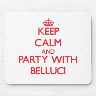 Guarde la calma y vaya de fiesta con Belluci Tapetes De Raton