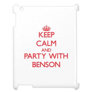 Guarde la calma y vaya de fiesta con Benson