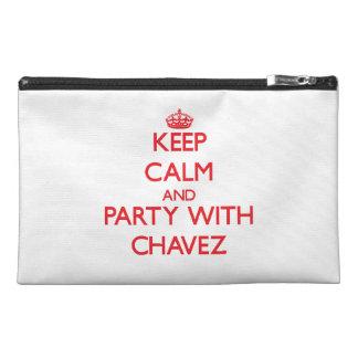 Guarde la calma y vaya de fiesta con Chavez