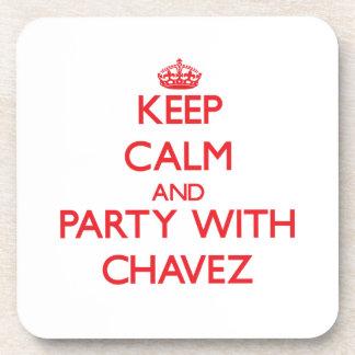 Guarde la calma y vaya de fiesta con Chavez Posavaso