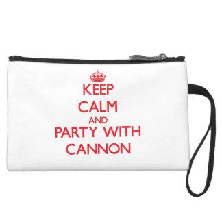 Guarde la calma y vaya de fiesta con el cañón