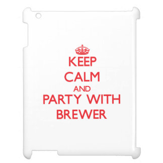 Guarde la calma y vaya de fiesta con el cervecero