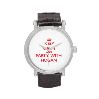 Guarde la calma y vaya de fiesta con el Hogan Reloj