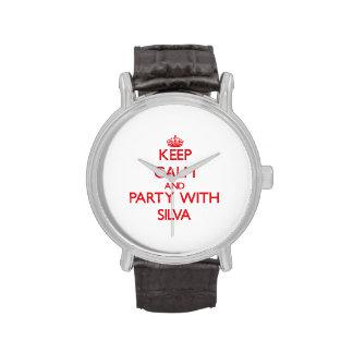 Guarde la calma y vaya de fiesta con el Silva Relojes