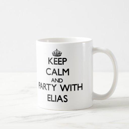 Guarde la calma y vaya de fiesta con Elias Tazas