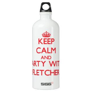 Guarde la calma y vaya de fiesta con Fletcher