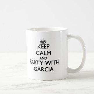 Guarde la calma y vaya de fiesta con García Tazas