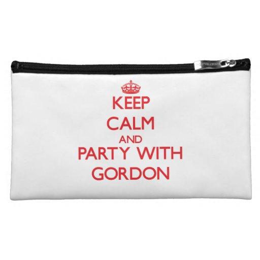 Guarde la calma y vaya de fiesta con Gordon