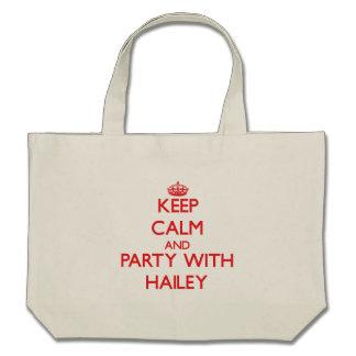 Guarde la calma y vaya de fiesta con Hailey Bolsas