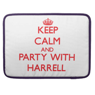 Guarde la calma y vaya de fiesta con Harrell