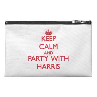 Guarde la calma y vaya de fiesta con Harris