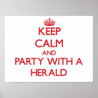 Guarde la calma y vaya de fiesta con Herald Impresiones