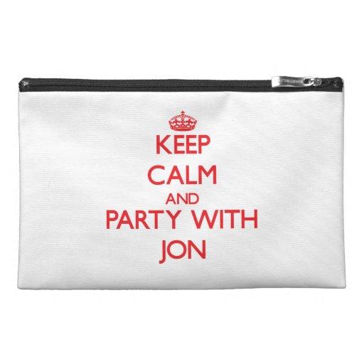 Guarde la calma y vaya de fiesta con Jon