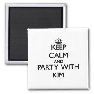 Guarde la calma y vaya de fiesta con Kim