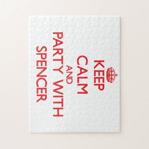Guarde la calma y vaya de fiesta con la chaqueta d puzzles